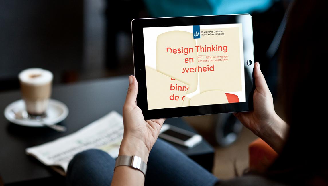 Design thinking binnen de overheid-blog