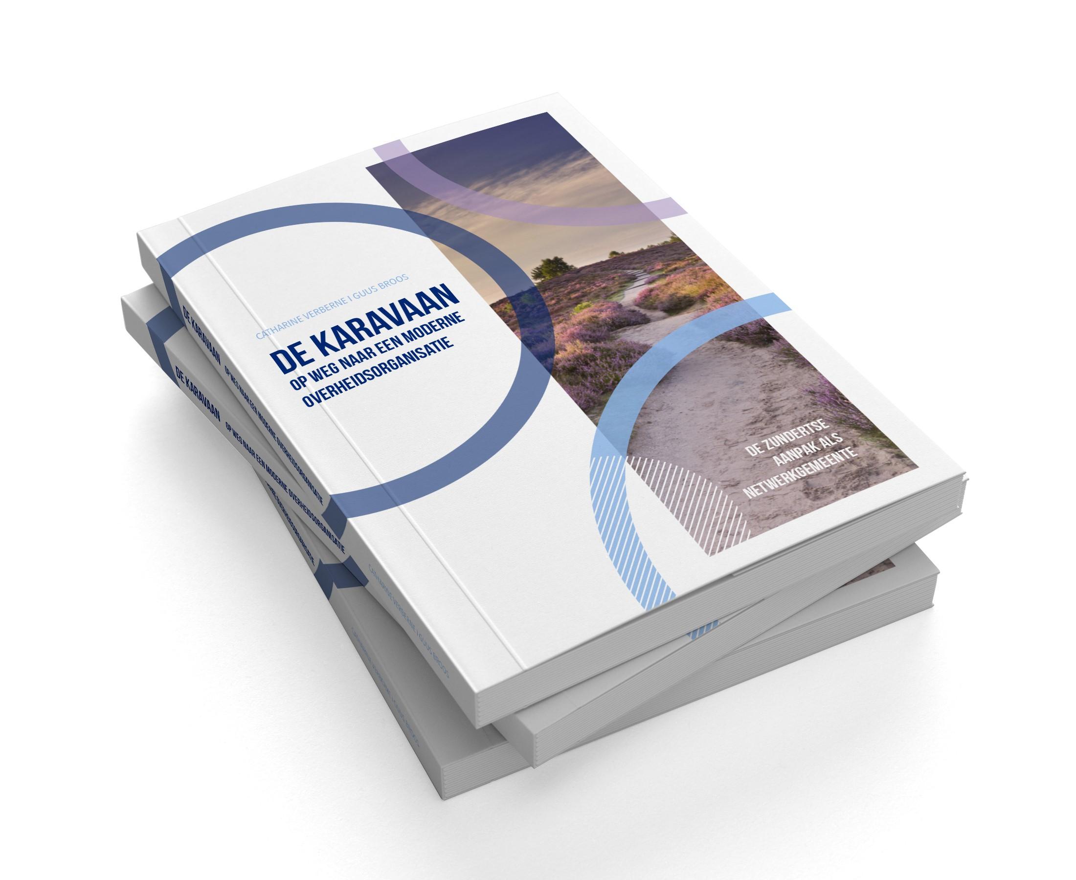 De Karavaan  -foto boekstapel
