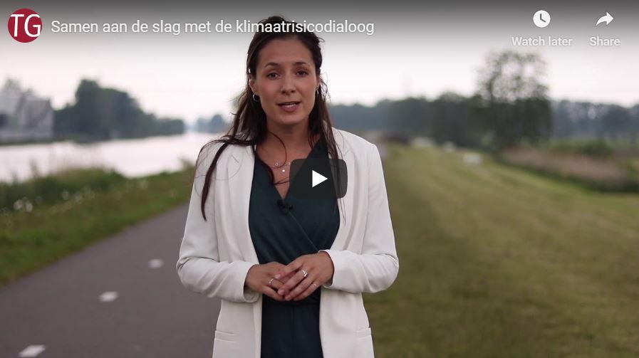 Beeld vlog Samen aan de slag met klimaatrisicodiaoog