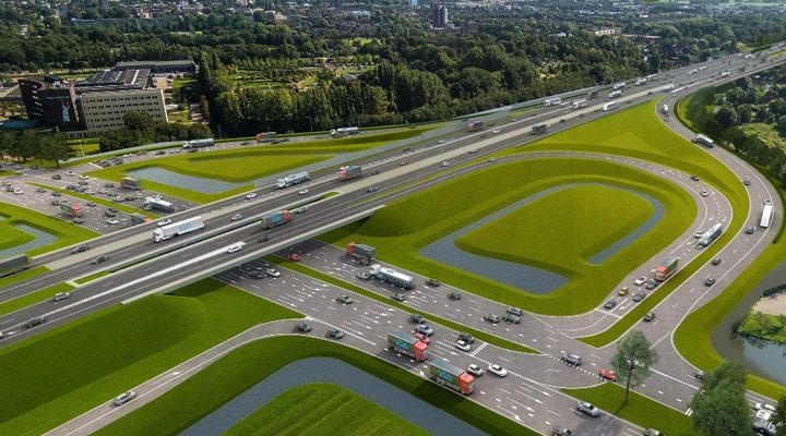 Samenwerken bij beheer en onderhoud Rijnlandroute