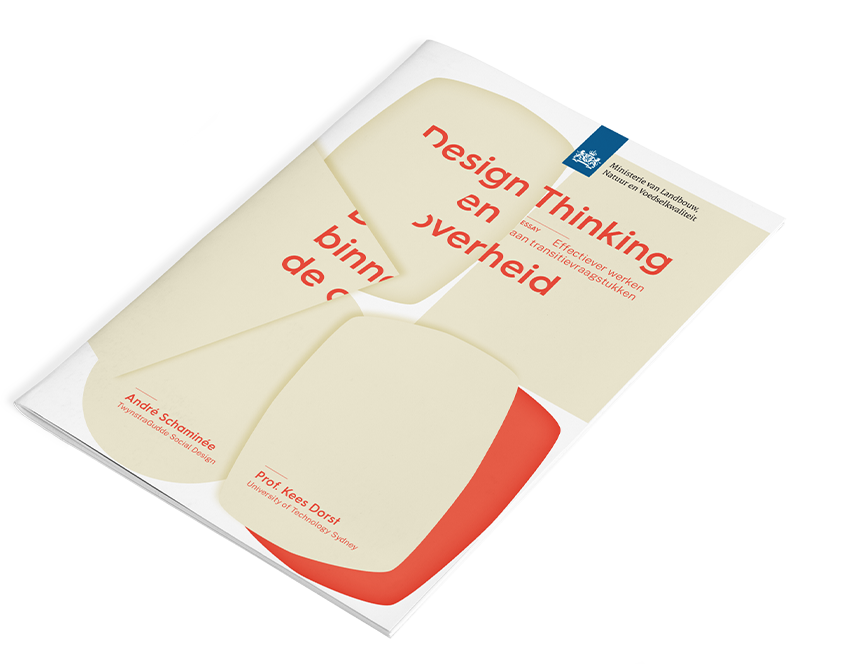 Design thinking binnen de overheid mockup
