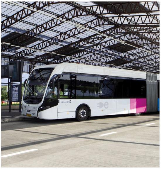 Waterstofbussen Zero Emissie